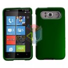 FOR HTC HD7 HD 7 Cover Hard Case Rubberzied Green