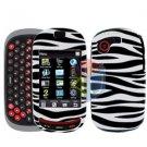 For Samsung Gravity-T T669 Cover Hard Case Zebra
