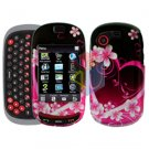 For Samsung Gravity-T T669 Cover Hard Case Love