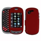 For Samsung Gravity-T T669 Cover Hard Case Red