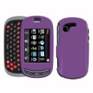 For Samsung Gravity-T T669 Cover Hard Case Purple