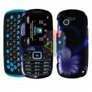 For Samsung Gravity 3 T479 Cover Hard Case B-Flower