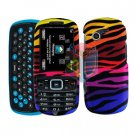 For Samsung Gravity 3 T479 Cover Hard Case C-Zebra