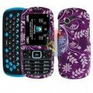 For Samsung Gravity 3 T479 Cover Hard Case P-Flower