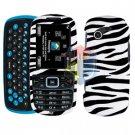 For Samsung Gravity 3 T479 Cover Hard Case Zebra