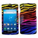 For Samsung Captivate i897 Cover Hard Case C-Zebra