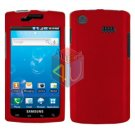 For Samsung Captivate i897 Cover Hard Case Red