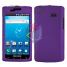For Samsung Captivate i897 Cover Hard Case Purple