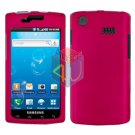 For Samsung Captivate i897 Cover Hard Case Rose Pink