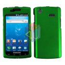 For Samsung Captivate i897 Cover Hard Case Green
