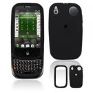 For Palm Pre Plus Cover Hard Case Rubberized Black