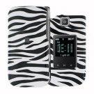 For Samsung Zeal / Alias 2 U750 Cover Hard Case Zebra