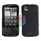 For Motorola Droid Pro A957 Cover Hard Case Rubberized Black