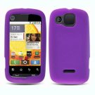 FOR Motorola Citrus wx445 Silicon cover soft case Purple