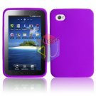 For Samsung Galaxy Tab (i800 / p1000) Silicon cover soft case Purple