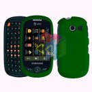For Samsung Flight II 2 a927 Cover Hard Case Rubberized Green