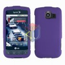 For LG Optimus S / LS-670 Cover Hard Case Rubberized Purple