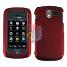 For Pantech Crux / CDM8999 Cover Hard Case Rubberized Red