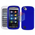 For Pantech Laser P9050 Cover Hard Case Rubberized Blue