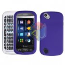 For Pantech Laser P9050 Cover Hard Case Rubberized Purple