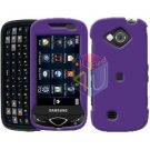 For Samsung Reality U820 Cover Hard Case Rubberized Purple