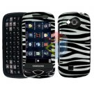 For Samsung Reality U820 Cover Hard Case Zebra