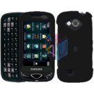 For Samsung Reality U820 Cover Hard Case Rubberized Black