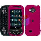For Samsung Reality U820 Cover Hard Case Rubberized Rose Pink
