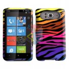 FOR HTC HD7 HD 7 Cover Hard Case C-Zebra