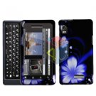 For Motorola Milestone 2 Cover Hard Case B-Flower