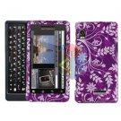 For Motorola Milestone 2 Cover Hard Case P-Flower