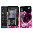 For Motorola Milestone 2 Cover Hard Case Love