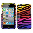 For ipod touch 4 Cover Hard Case C-Zebra