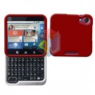 For Motorola Flipout MB511 Cover Hard Case Rubberized Red