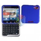 For Motorola Flipout MB511 Cover Hard Case Rubberized Blue