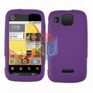For Motorola Citrus WX445 Cover Hard Case Rubberized Purple