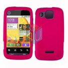 For Motorola Citrus WX445 Cover Hard Case Rubberized Hot Pink