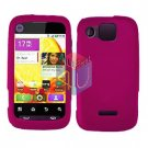 For Motorola Citrus WX445 Cover Hard Case Rubberized Rose Pink