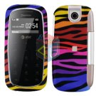 For Pantech impact P7000 Cover Hard Case C-Zebra