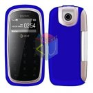 For Pantech impact P7000 Cover Hard Case Rubberized Blue
