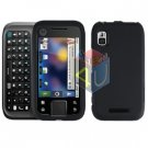 For Motorola Flipside MB508 Cover Hard Case Rubberized Black