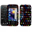 For Motorola Flipside MB508 Cover Hard Case R-Dot