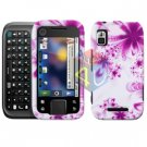 For Motorola Flipside MB508 Cover Hard Case H-Flower