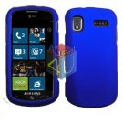 For Samsung Focus i917 Cover Hard Case Rubberized Blue