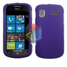 For Samsung Focus i917 Cover Hard Case Rubberized Purple