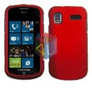 For Samsung Focus i917 Cover Hard Case Rubberized Red