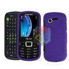 For Samsung Evergreen A667 Cover Hard Case Rubberized Purple