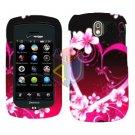 For Pantech Crux / CDM8999 Cover Hard Case Love