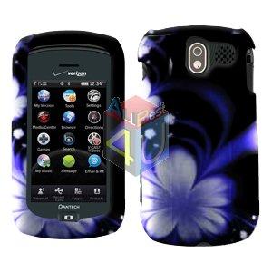 For Pantech Crux / CDM8999 Cover Hard Case B-Flower