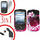 For Huawei Comet U8150 Screen +Car Charger +Hard Case Love 3-in-1